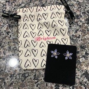 """Brighton cute lavender crystals 3/4"""" with bag"""